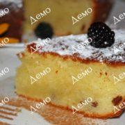 Рецепт творожного кекса
